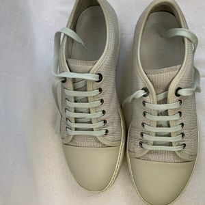🆕️ Lanvin Gummy Sneakers White Size 9 US Like New